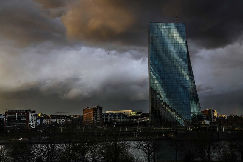EBC - siedziba we Frankfurcie nad Menem /AFP