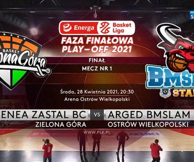 EBL 1. mecz finałowy. Enea Zastal BC Zielona Góra - Arged BMSlam Stal Ostrów Wielkopolski 89:75 - skrót (POLSAT SPORT). WIDEO
