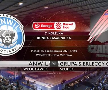 EBL. Anwil Włocławek - Grupa Sierleccy Czarni Słupsk. Skrót meczu. WIDEO (Polsat Sport)