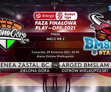 EBL. Enea Zastal BC Zielona Góra - Arged BMSlam Stal Ostrów Wielkopolski 71:87. Skrót meczu (POLSAT SPORT). Wideo