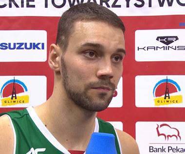 EBL. Grzegorz Kulka: W końcówce straciliśmy swój rytm (POLSAT SPORT). Wideo