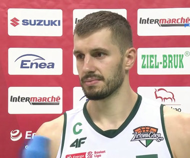 EBL. Krzysztof Sulima: Musimy zachować koncentrację w każdej minucie meczu (POLSAT SPORT). Wideo
