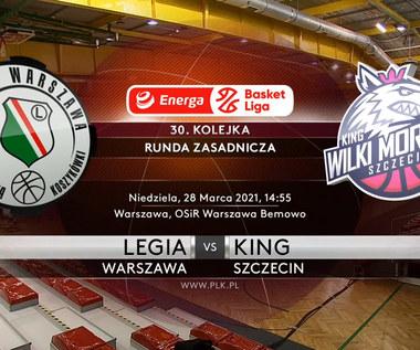 EBL. Legia Warszawa - King Szczecin 137:43 - skrót meczu (POLSAT SPORT). WIDEO