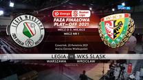 EBL. Legia Warszawa - Śląsk Wrocław 84:72. Skrót meczu (POLSAT SPORT). Wideo