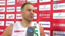 EBl. Łukasz Koszarek: Rywale walczyli do końca. Chwała im za to (POLSAT SPORT). Wideo