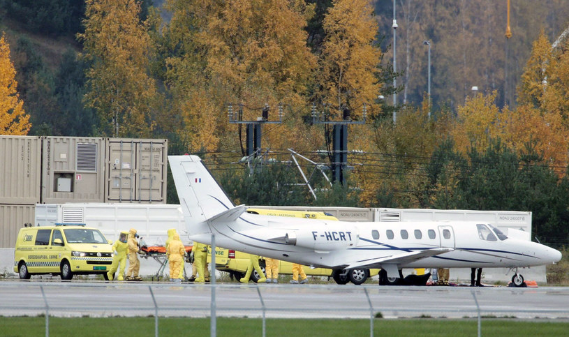 Ebola coraz bliżej /Stian Lysberg Solum     /PAP/EPA