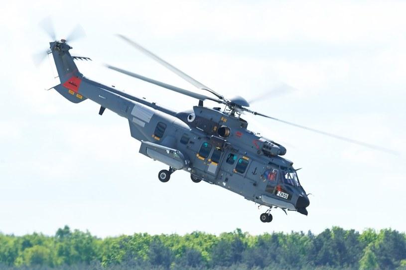 EC-725 Caracal na testach w Powidzu /Łukasz Szeląg /Reporter