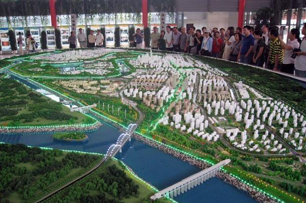 Eco-City jest wizytówką chińskiej myśli proekologicznej /AFP
