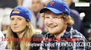 Ed Sheeran i jego dziewczyna obchodzili pierwszą rocznicę