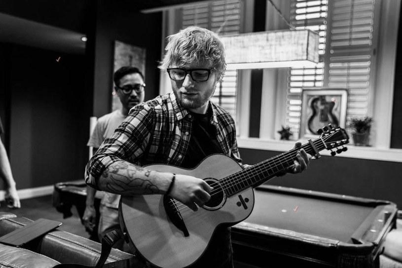 Ed Sheeran niebawem po raz pierwszy zostanie tatą /Wiese/FaceToFace/REPORTER /East News