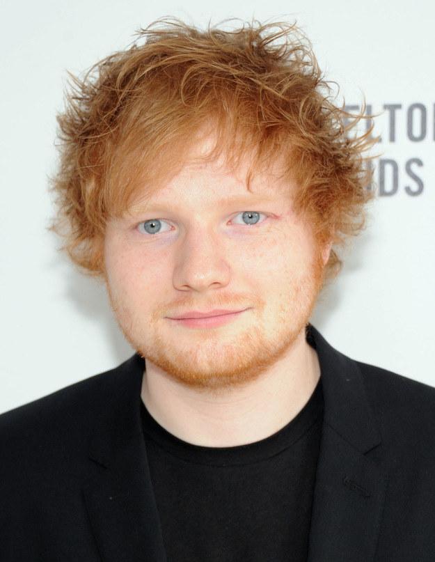 Ed Sheeran uwielbia tatuaże! /Jamie McCarthy /Getty Images