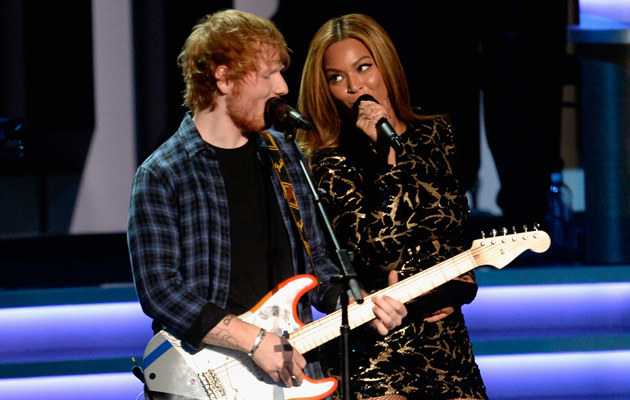 Ed Sheeran zdradził tajemnicę Beyonce /Kevork Djansezian /Getty Images