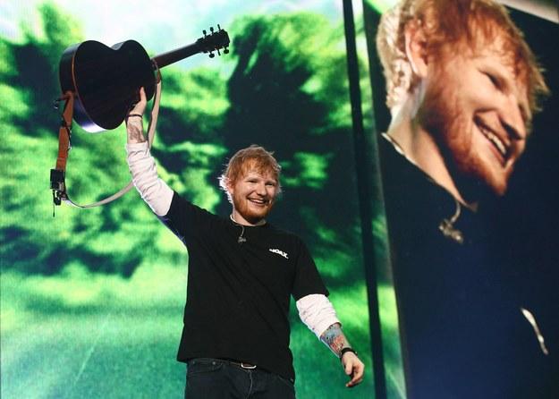Ed Sheeran został tatą / Sergei Bobylev/TASS /PAP/EPA