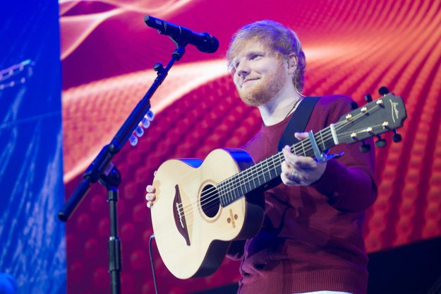 Ed Sheeran /Justin Ng /PAP/Photoshot