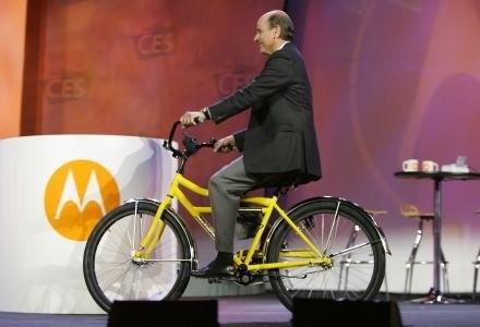 Ed Zander na konferencji Motoroli podczas targów CES w Las Vegas /AFP