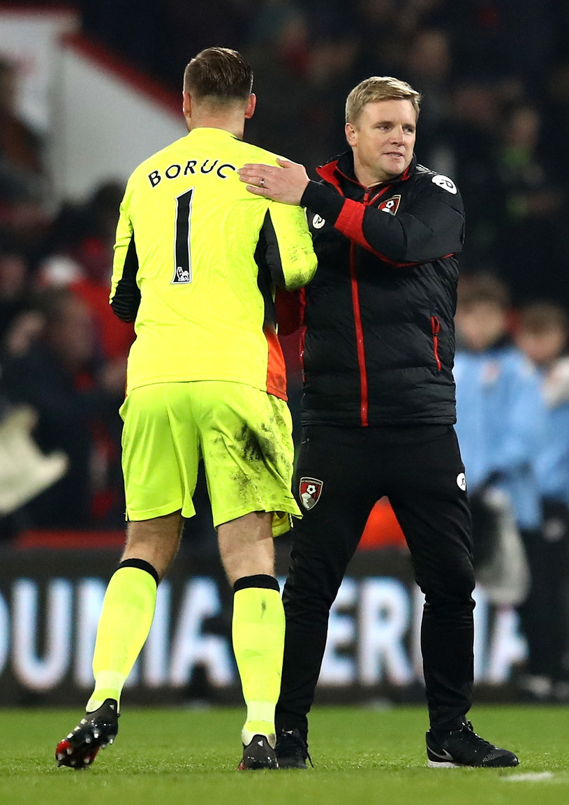 Eddie Howe i Artur Boruc /Getty Images
