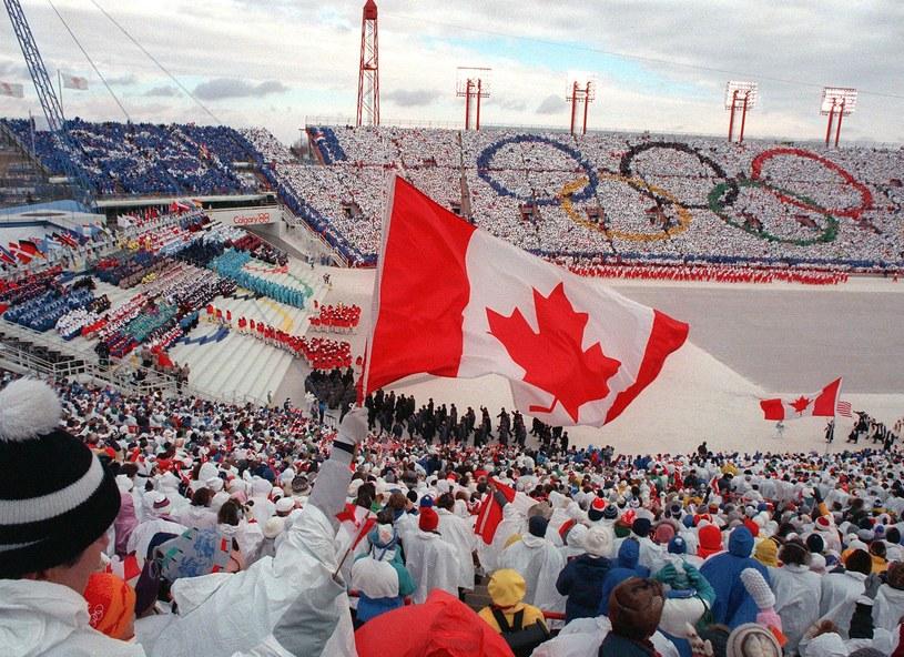 """Eddie """"Orzeł"""" wystąpił na igrzyskach w Calgary w 1988 roku /AFP"""