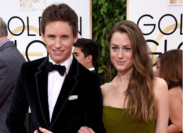 Eddie Reddmayne z żoną /Getty Images