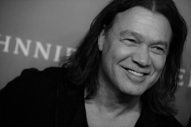 Eddie Van Halen /Dennis Van Tine    /PAP/Photoshot
