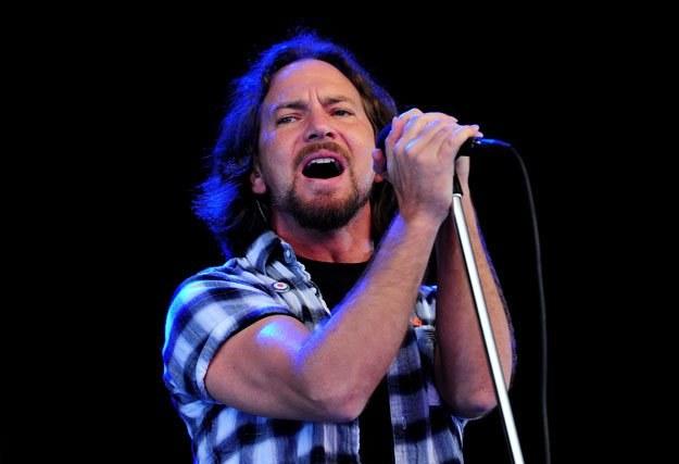 Eddie Vedder i Pearl Jam mogą liczyć na gorące przyjęcie w Gdyni fot. Gareth Cattermole /Getty Images/Flash Press Media