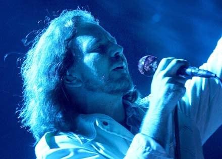 Eddie Vedder (Pearl Jam) /arch. AFP