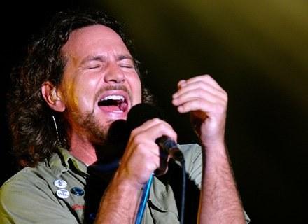 Eddie Vedder, wokalista Pearl Jam będzie obecny w Gdyni./fot. Rob Loud /Getty Images/Flash Press Media