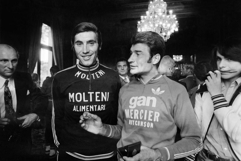 Eddy Merckx (w środku) /AFP