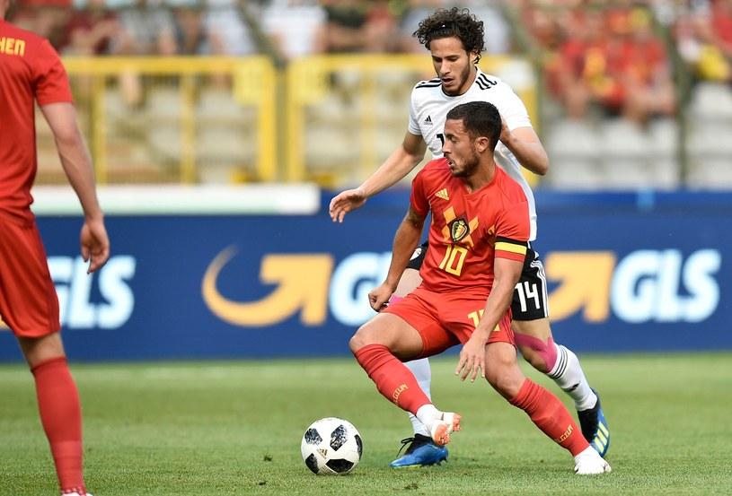 Eden Hazard, as Belgów w meczu z Egiptem /AFP