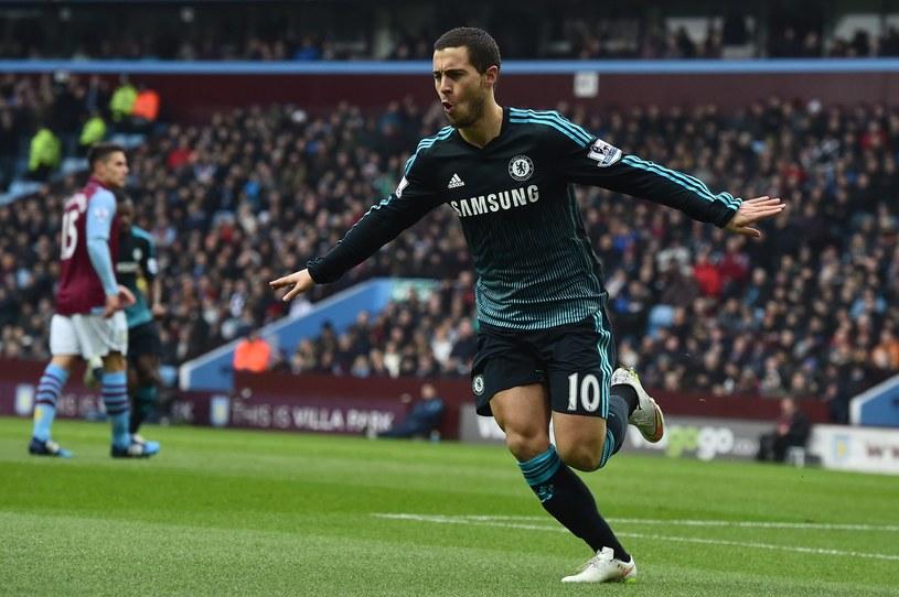 Eden Hazard, gwiazda Chelsea Londyn /AFP