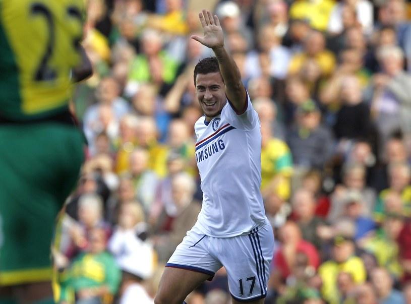 Eden Hazard to dziś czołowy zawodnik Chelsea Londyn /AFP