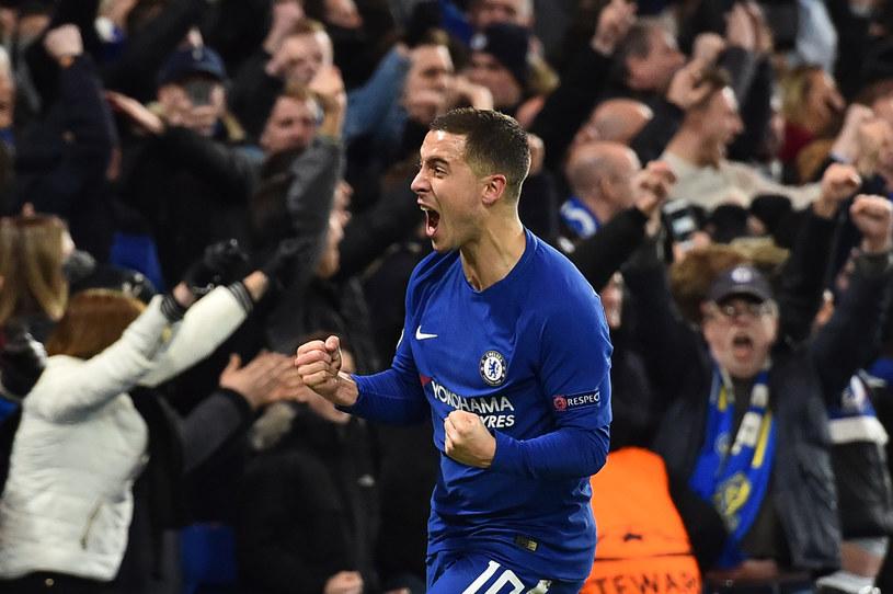 Eden Hazard wykorzystał rzut karny i przypieczętował awans Chelsea /AFP