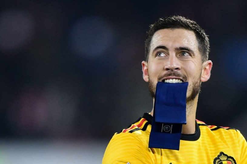 Eden Hazard wyląduje w końcu w Madrycie? /AFP