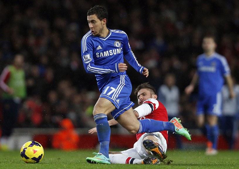 Eden Hazard wyprowadzał groźne kontry Chelsea /AFP