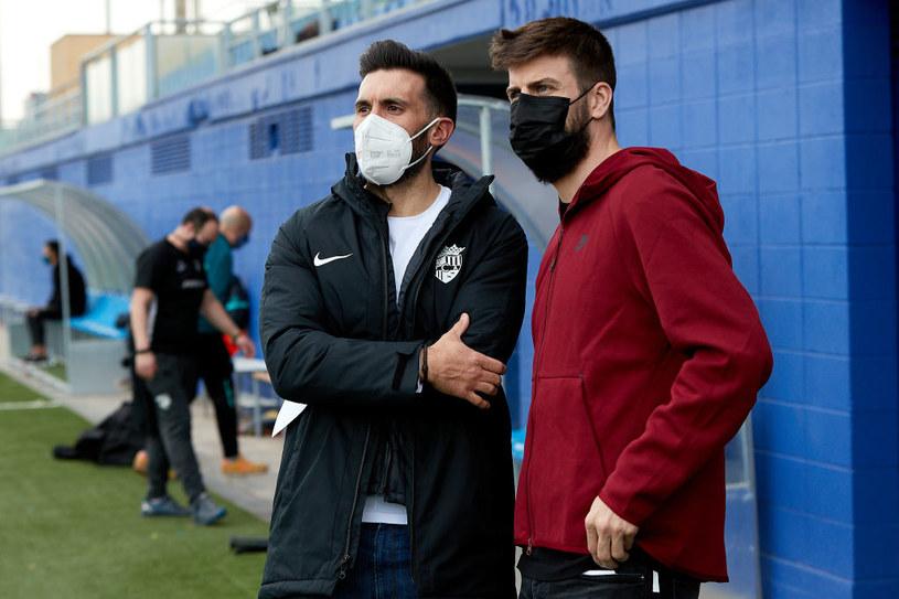 Eder Sarabia i Gerard Pique /Getty Images