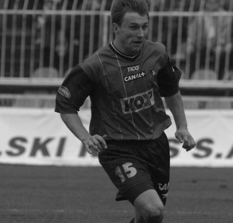 Edin Šaranović w barwach Pogoni /Dariusz Hermiersz /Newspix