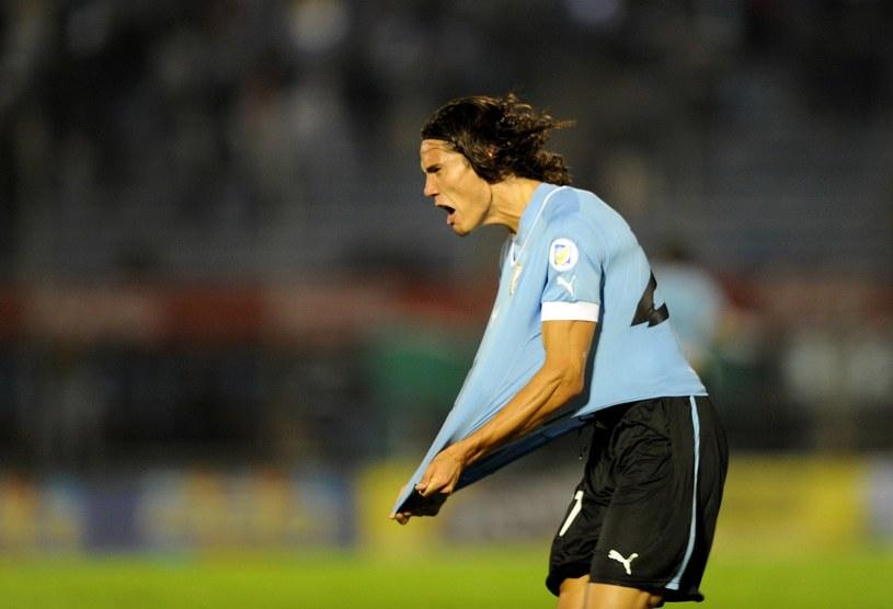 Edinson Cavani - jedna z największych gwiazd Urugwaju /AFP