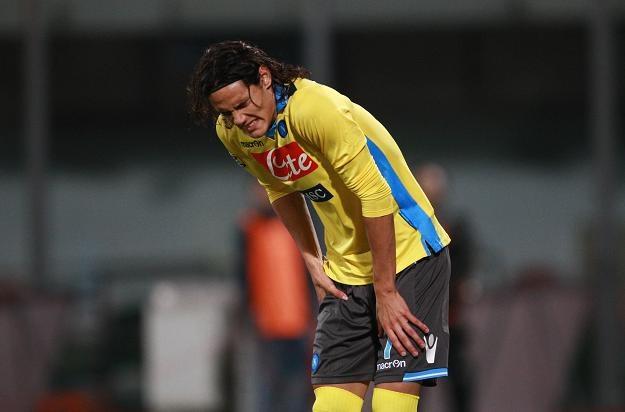 Edinson Cavani (na zdjęciu) zdobył bramkę już kilkadziesiąt sekund po rozpoczęciu spotkania /AFP