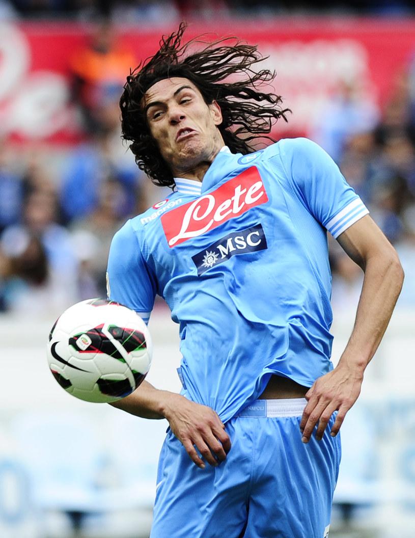 Edinson Cavani, snajper Napoli /AFP