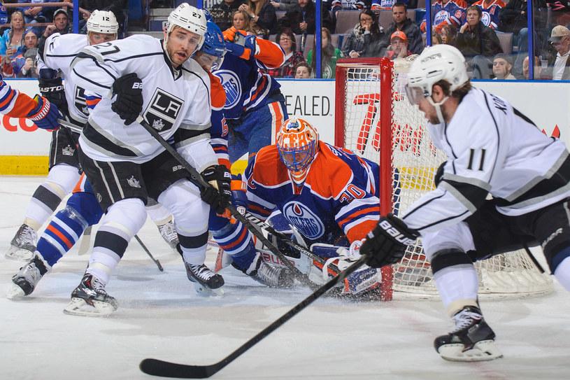Edmonton Oilers przegrali z Los Angeles Kings mimo świetnej dyspozycji bramkarza Bena Scrivensa /AFP