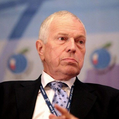 Edmund Phelps, laureat ekonomicznego Nobla z 2006 roku /AFP