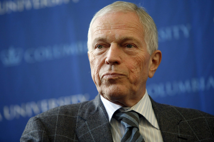 Edmund Phelps laureat Nagrody Nobla z ekonomii z 2006 roku. /DIANE BONDAREFF    /East News