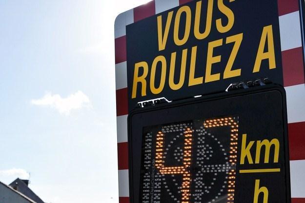 Edukacyjny radar we Francji /AFP
