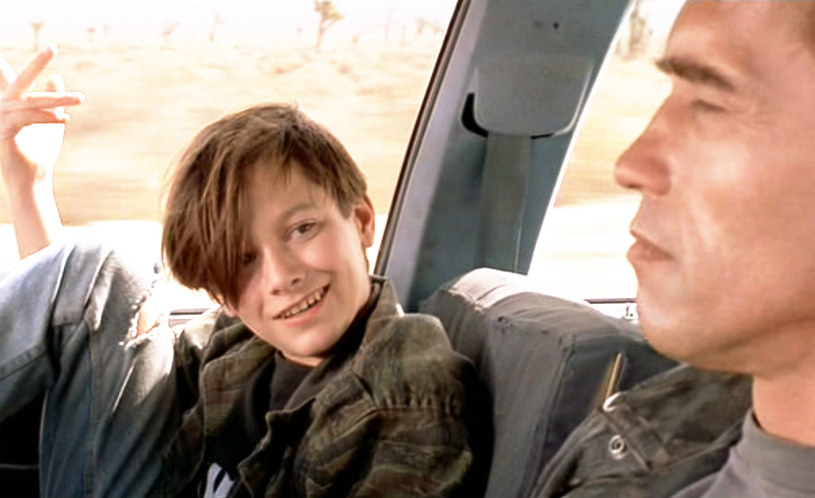 "Edward Furlong w filmie ""Terminator: Dzień Sądu"" / CBS Photo Archive / Contributor /Getty Images"