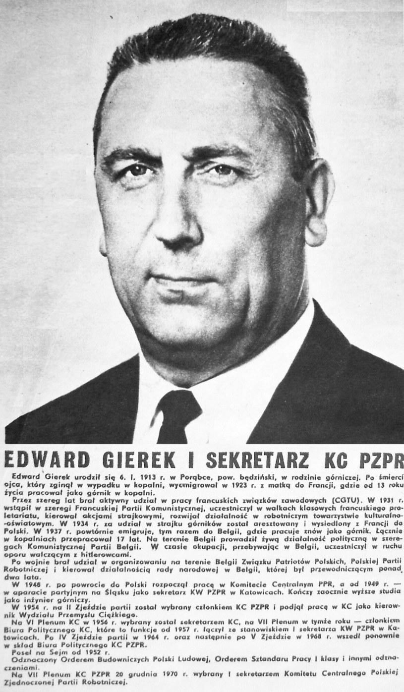 Edward Gierek (1913 - 2001 /Image Asset Management /East News