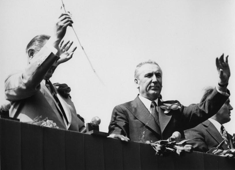 Edward Gierek (z prawej) śnił o atomowej potędze Polski /East News