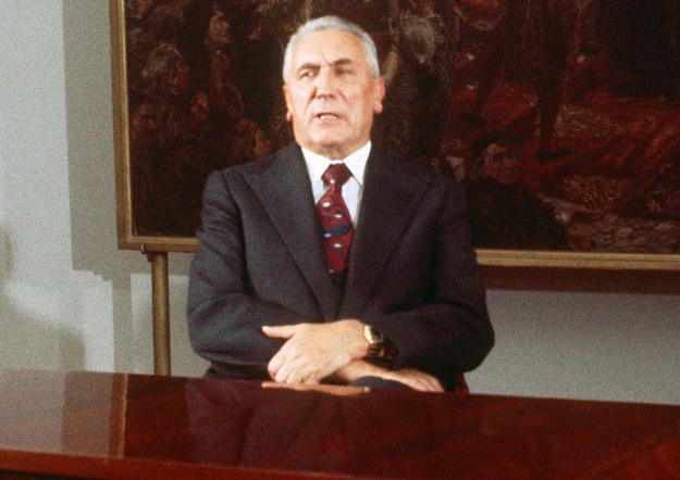 Edward Gierek. Zdjęcie z 1977 roku /AFP