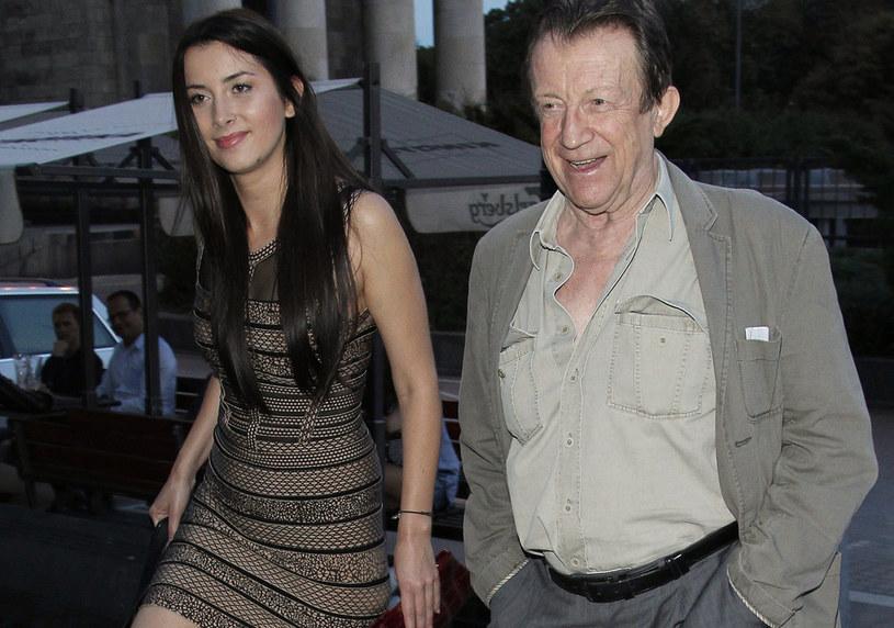 Edward Lidne-Lubaszenko z córką Beatą, 2012 rok / Engelbrecht /AKPA