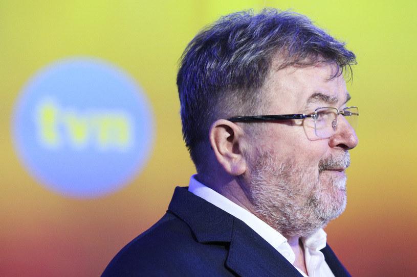 Edward Miszczak – dyrektor programowy TVN /Andrzej Hulimka  /Agencja FORUM