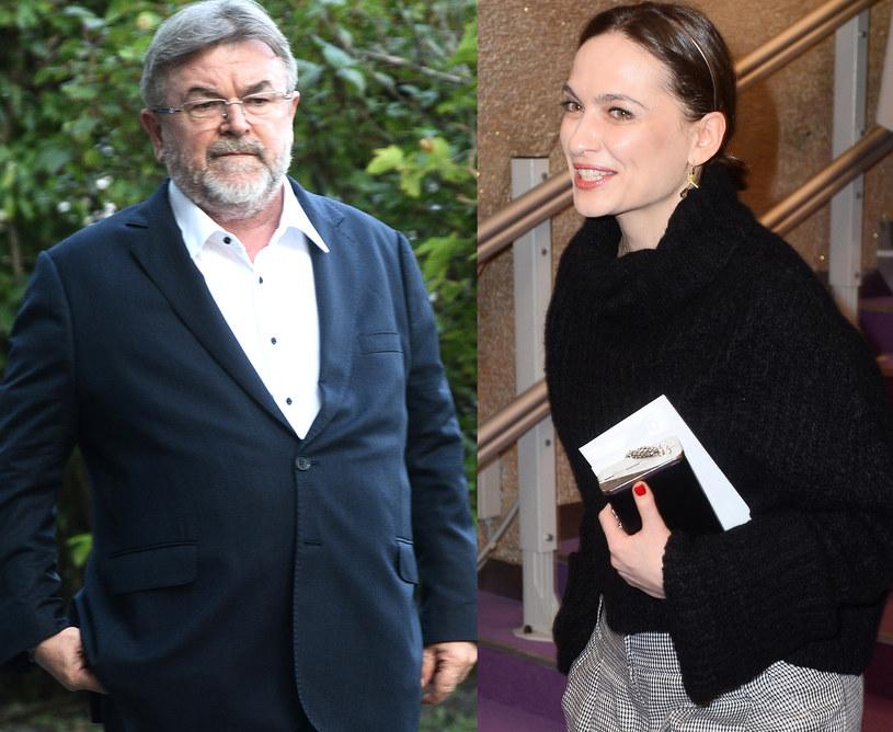 Edward Miszczak i Anna Cieślak są parą? fot. Andras Szilagyi /Jarosław Antoniak /MWMedia