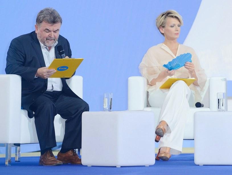 Edward Miszczak i Magda Mołek /VIPHOTO /East News